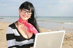 Funcionamento da mulher Fotos de Stock Royalty Free