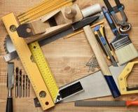 Funcionamento de madeira foto de stock royalty free
