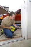 Funcionamento do carpinteiro Fotografia de Stock Royalty Free