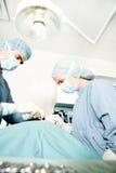 Funcionamento do cirurgião foto de stock