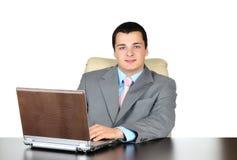 Funcionamento do homem de negócios Imagens de Stock