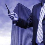 Funcionamento do homem de negócios Fotos de Stock