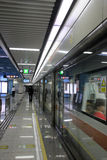 Funcionamento do metro Fotos de Stock Royalty Free