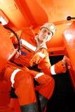 Funcionamento do mineiro Fotografia de Stock Royalty Free