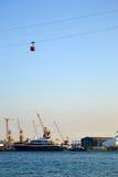 Funcionamento do porto Imagens de Stock Royalty Free