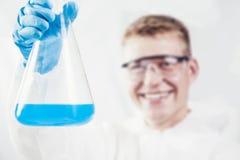 Funcionamento do químico imagens de stock
