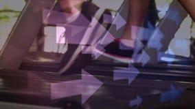 Funcionamento em uma escada rolante filme