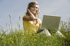 Funcionamento móvel Imagem de Stock Royalty Free