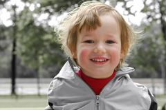 Funcionamentos do miúdo para Fotos de Stock