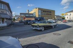 Funcionamiento americano clásico del coche Imagen de archivo