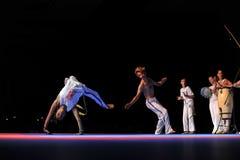 Funcionamiento de Capoeira Foto de archivo