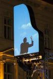 Funcionamiento de David Moreno en Bucarest, Rumania Fotos de archivo libres de regalías