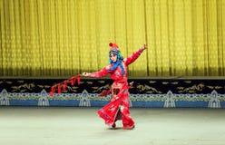 Funcionamiento de la ópera de Pekín foto de archivo libre de regalías