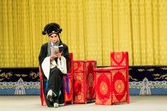 Funcionamiento de la ópera de Pekín Imagen de archivo libre de regalías