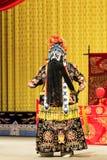 Funcionamiento de la ópera de Pekín Imagen de archivo