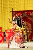 Funcionamiento de la ópera de Pekín fotos de archivo libres de regalías