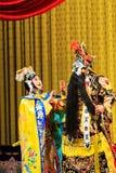 Funcionamiento de la ópera de Pekín fotografía de archivo libre de regalías