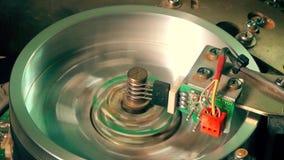 Funcionamiento de la cabeza magnética de la cinta del vcr del Vhs almacen de video