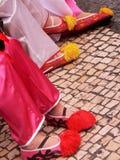 Funcionamiento de la calle, Macao foto de archivo libre de regalías
