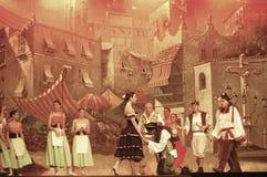 Funcionamiento de la danza Imagen de archivo