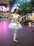 Funcionamiento de la danza del ballet en K-11 en Hong-Kong Fotos de archivo libres de regalías