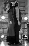 Funcionamiento de la danza del flamenco de Alba Lucera Imágenes de archivo libres de regalías