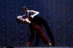 Funcionamiento de la danza moderna Fotos de archivo