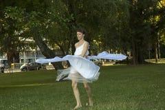 Funcionamiento de la danza moderna Imagen de archivo