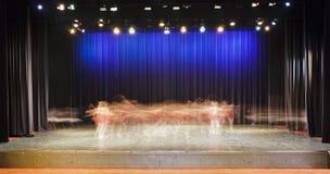 Funcionamiento de la etapa del ballet Fotografía de archivo