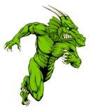 Funcionamiento de la mascota del dragón Fotografía de archivo libre de regalías