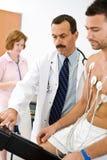 Funcionamiento de las personas médicas imagen de archivo libre de regalías