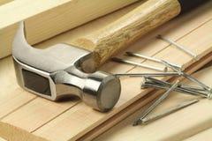 Funcionamiento de madera Imagenes de archivo