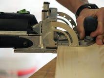 Funcionamiento de madera Imagen de archivo libre de regalías