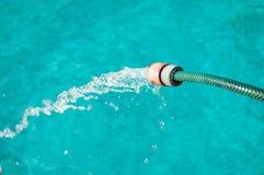 Funcionamiento del agua Foto de archivo libre de regalías