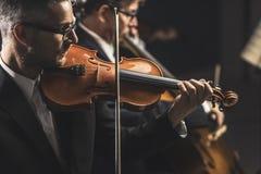 Funcionamiento del concierto de la música clásica fotografía de archivo libre de regalías