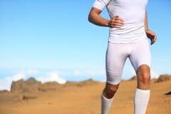 Funcionamiento del corredor de la aptitud del deporte Imagen de archivo libre de regalías