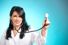 Funcionamiento del doctor de la medicina imagen de archivo libre de regalías
