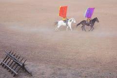 Funcionamiento del Equestrianism fotos de archivo libres de regalías