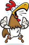Funcionamiento del gallo Foto de archivo