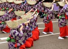 Funcionamiento del geisha Imagen de archivo libre de regalías