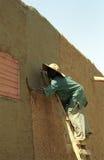 Funcionamiento del hombre de Fulani, Djenne, Malí fotografía de archivo