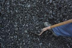 Funcionamiento del minero Imagen de archivo libre de regalías