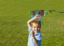 Funcionamiento del muchacho Imagen de archivo libre de regalías