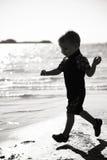 Funcionamiento del niño fotos de archivo libres de regalías