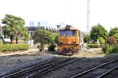 Funcionamiento del tren Imagen de archivo libre de regalías
