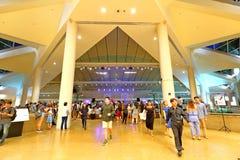Funcionamiento en la explanada Singapur Imagen de archivo