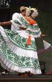 Funcionamiento latino de la danza Imagen de archivo libre de regalías