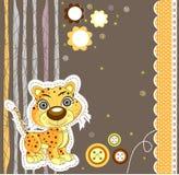 Funcionamiento lindo del gato Ilustración del vector Imagen de archivo