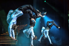 Funcionamiento masculino del ballet Foto de archivo libre de regalías