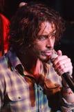 Funcionamiento vivo de Chris Cornell Foto de archivo libre de regalías